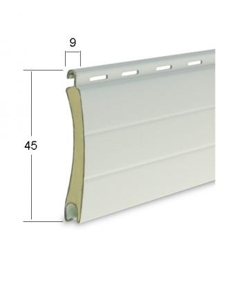 alluminio 9 x 45 media densità