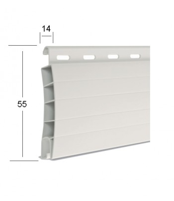 PVC 14 X 55 con rinforzi in...